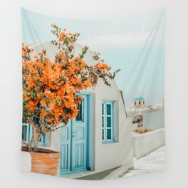 Greece Airbnb #photography #greece #travel Wall Tapestry