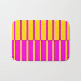 Canary Zebra Plays Piano Bath Mat