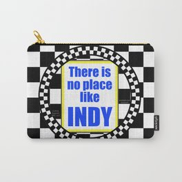 """INDY Oval """"Sticker"""" Carry-All Pouch"""