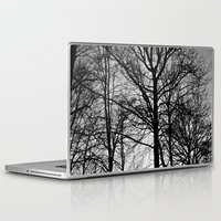 house stark Laptop & iPad Skins featuring Stark by MLauxDesign