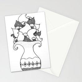 Amphora - White Black Stationery Cards