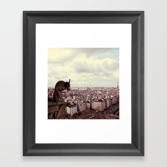La Cite Framed Art Print