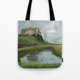 Lindisfarne Tote Bag