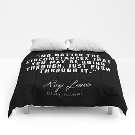 32 | Ray Lewis Quotes 190511 Comforters