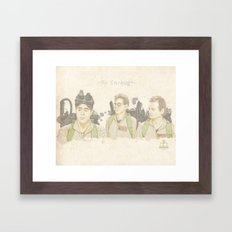 First Call Framed Art Print