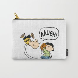 Charlie Brown Foot Ball Carry-All Pouch
