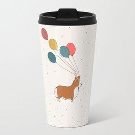 HAPPY NEW YEAR CORGI Travel Mug