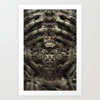 prometheus Art Prints featuring - Prometheus - by Mr.Klevra