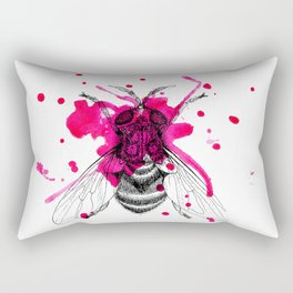 Squashed fly Rectangular Pillow