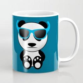 Cool and cute panda bear with sunglasses Coffee Mug