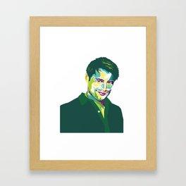 Joey Tribbiani Framed Art Print