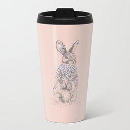 Blossom Bunny Metal Travel Mug