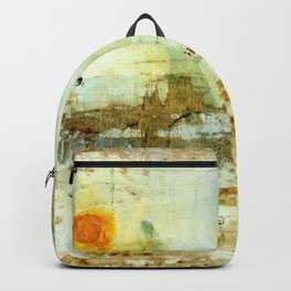 Drifting, Abstract Landscape Art Painting Backpack