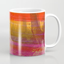 295 2 Neon Painted Forest Coffee Mug