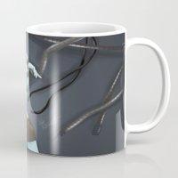 cyberpunk Mugs featuring Cyberpunk by GrazilDesign