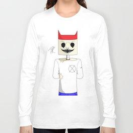 devil skelly Long Sleeve T-shirt