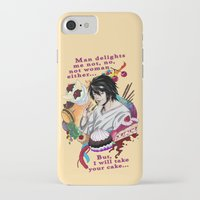 fandom iPhone & iPod Cases featuring Fandom Pride: Asexuality Special, L Death Note by Seraph Limonade
