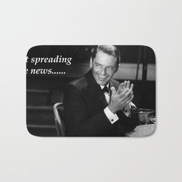Sinatra - New York, New York - Ol' Blue Eyes Bath Mat