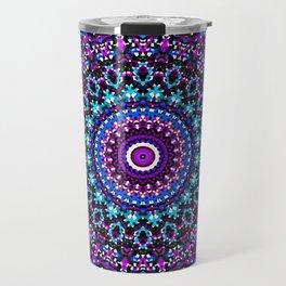 Mosaic Kaleidoscope 3 Travel Mug