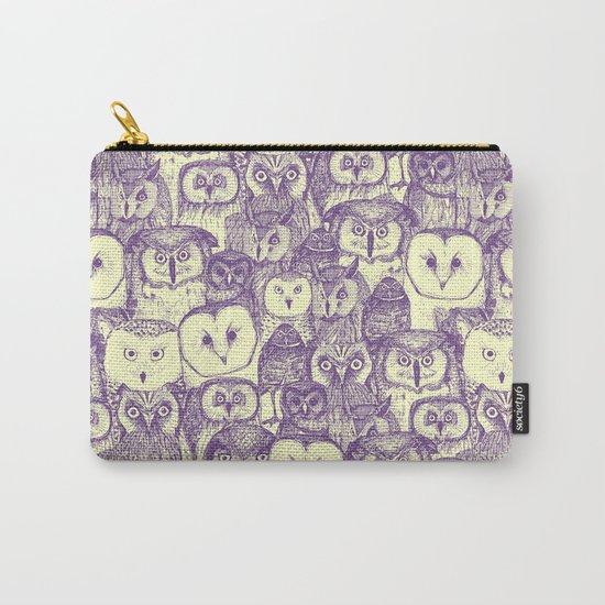 just owls purple cream by sharonturner