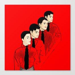 Kraftwerk Kens Canvas Print