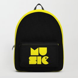 Music Man Rave Quote Backpack