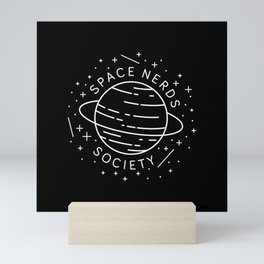 Space Nerds Society Mini Art Print