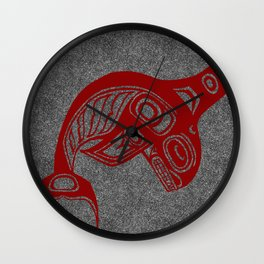 Blood Keét Smoke Wall Clock