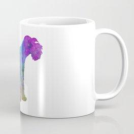 Miniature Schnauzer in watercolor Coffee Mug