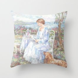 A Letter for Rose Throw Pillow