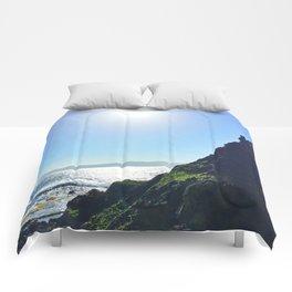 Pagudpud, Philippines Sunrise Art  Comforters