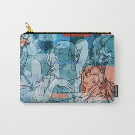 Retro Girls Carry-All Pouch