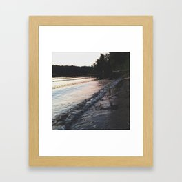 Beachy Framed Art Print