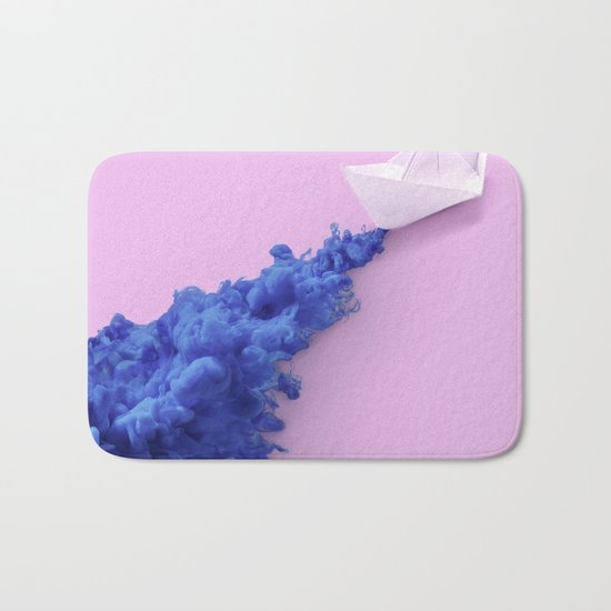 PAPER BOAT INK Bath Mat