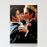 klaine Stationery Cards featuring Klaine by Warbler