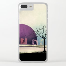 One Tree no5 Clear iPhone Case