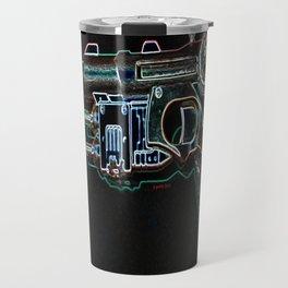 Neon Raygun Travel Mug
