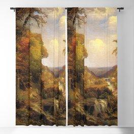 On The Wissahickon Near Chestnut Hill 1870 By Thomas Moran   Philadelphia Scenic Reproduction Blackout Curtain
