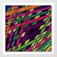 lantern Art Prints featuring Lantern by Glanoramay