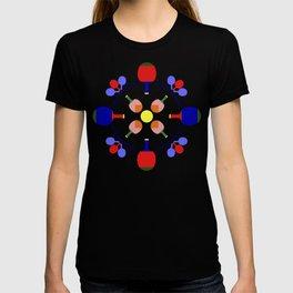 Table Tennis Design T-shirt