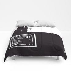 The Black Collection' Vertigo Comforters