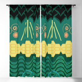 Rainforest HARMONY pattern Blackout Curtain