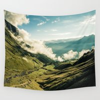 wander Wall Tapestries featuring Wander by StayWild