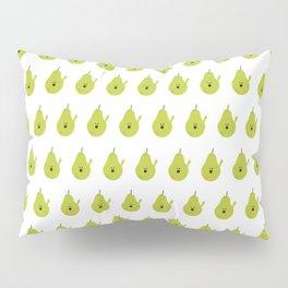 Vulgar Fruit: Profane Pear Pillow Sham