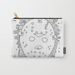 halloween the 13th jason voorhees horror lasoffittadiste Carry-All Pouch