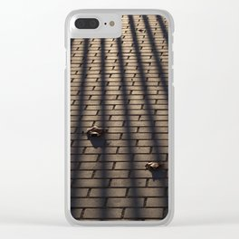 Behind bars Clear iPhone Case