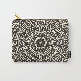 Circular Mosaic Carry-All Pouch
