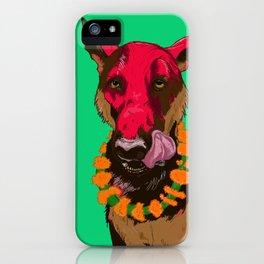Dog Festival iPhone Case