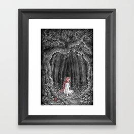 Skogsrået Framed Art Print