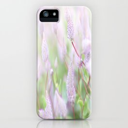 Sweet Whisper iPhone Case